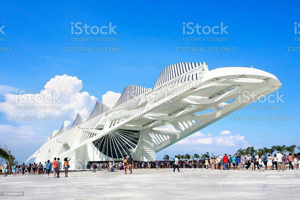 Museum of Tomorrow (Museu do Amanha), Rio de Janeiro, Brazil stock photo