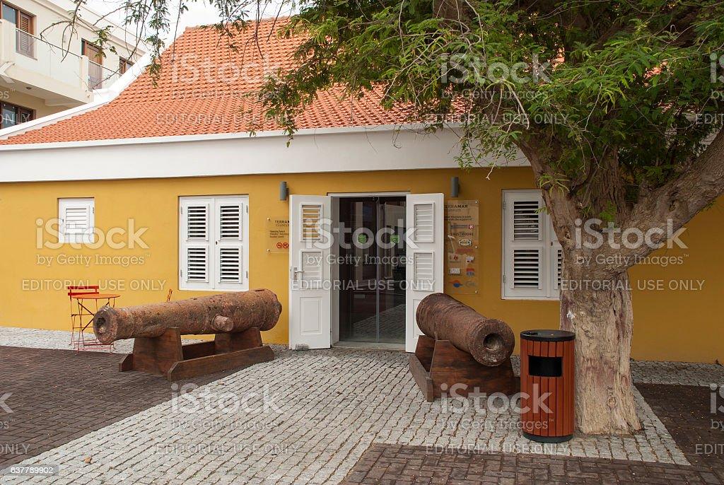 Museum on Bonaire stock photo