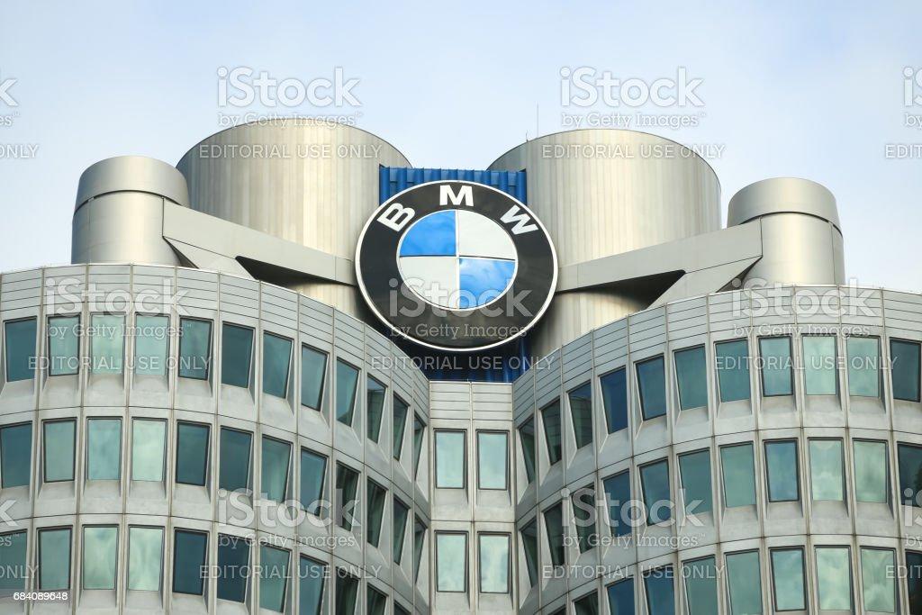 BMW Museum stock photo