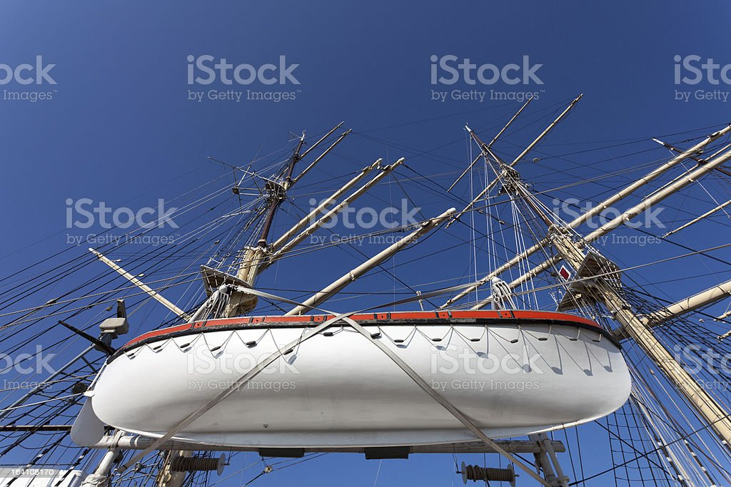 Museum ship in Gdynia royalty-free stock photo