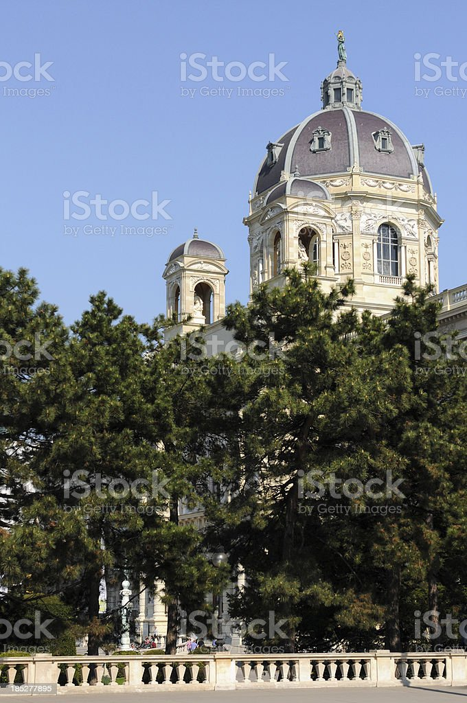 Museumsquartier in 7th district of Vienna (Austria) stock photo