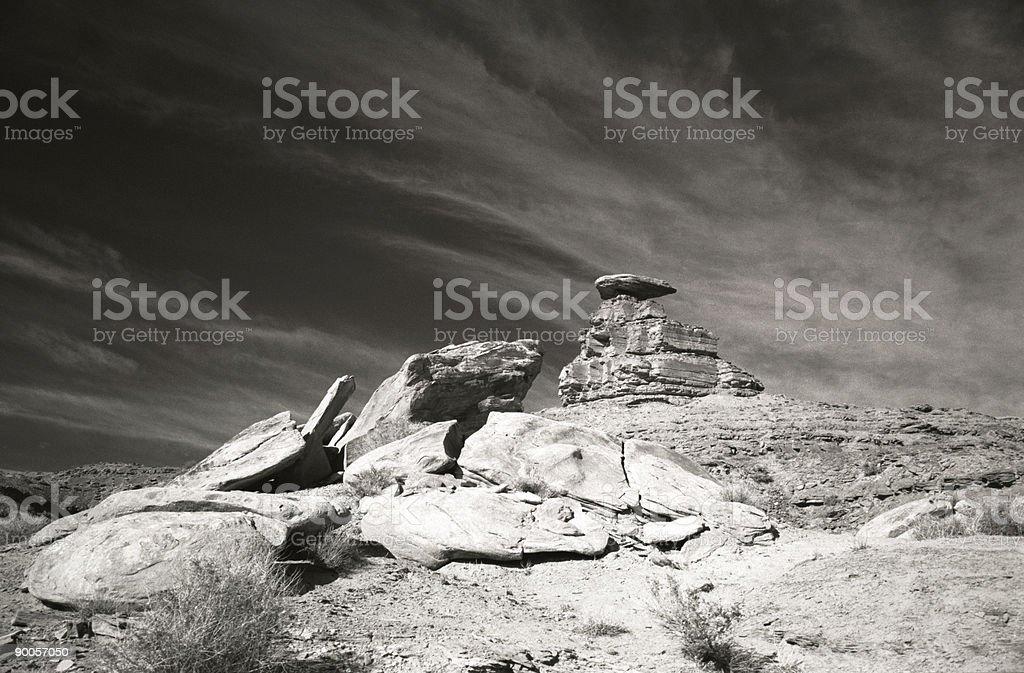 mushroom rock royalty-free stock photo