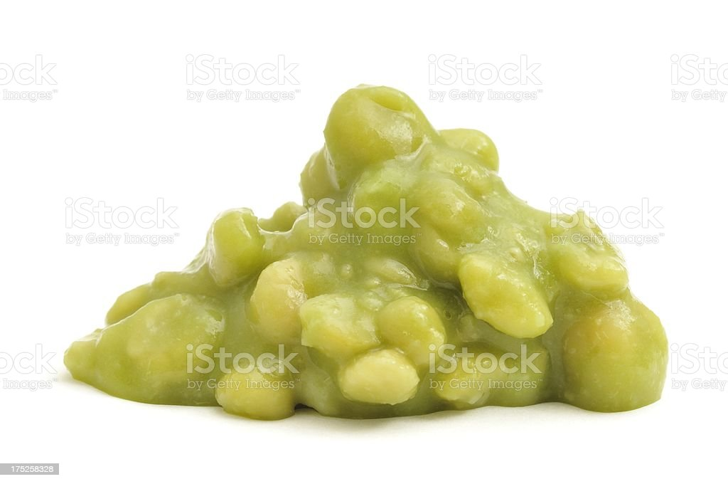 Mushy peas stock photo