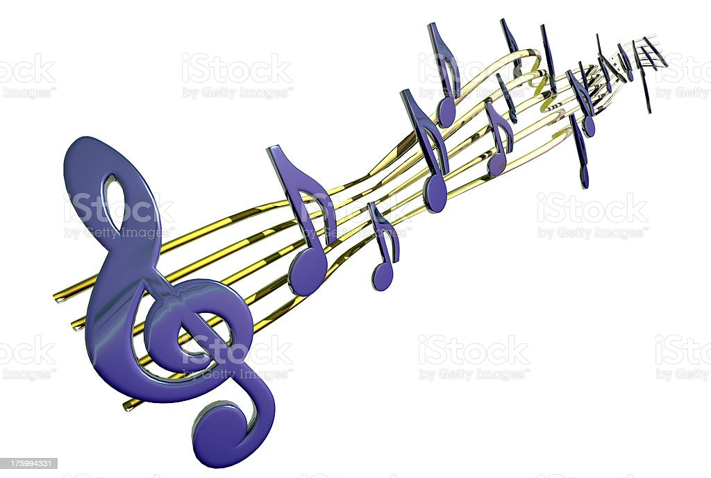 music 01a royalty-free stock photo