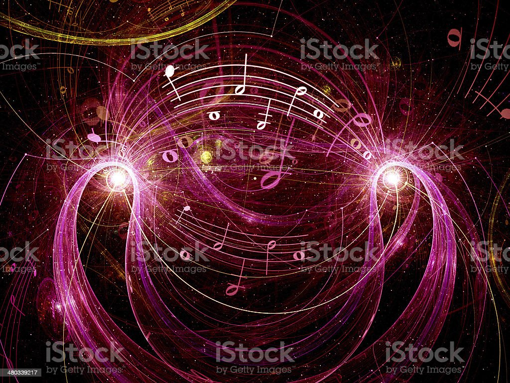 Music abstract background royalty-free stock photo