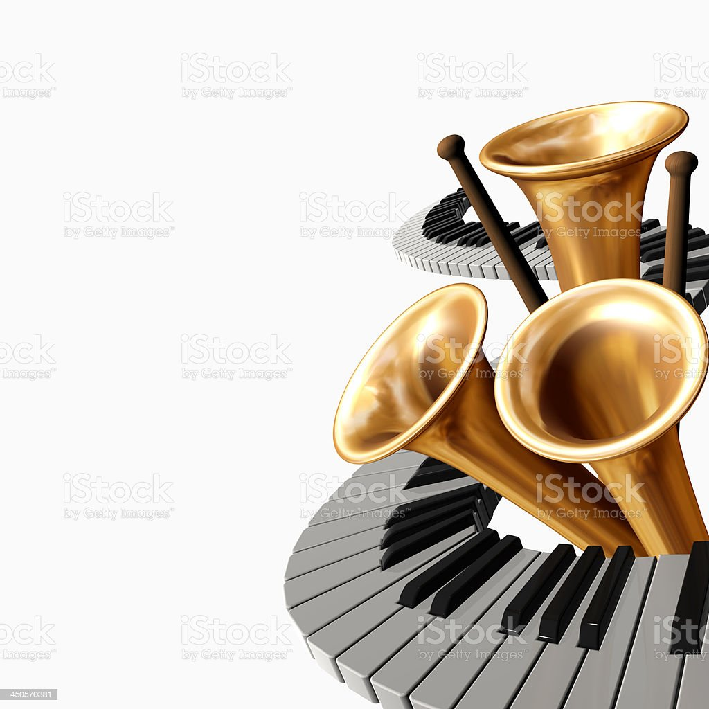 music abstract royalty-free stock photo