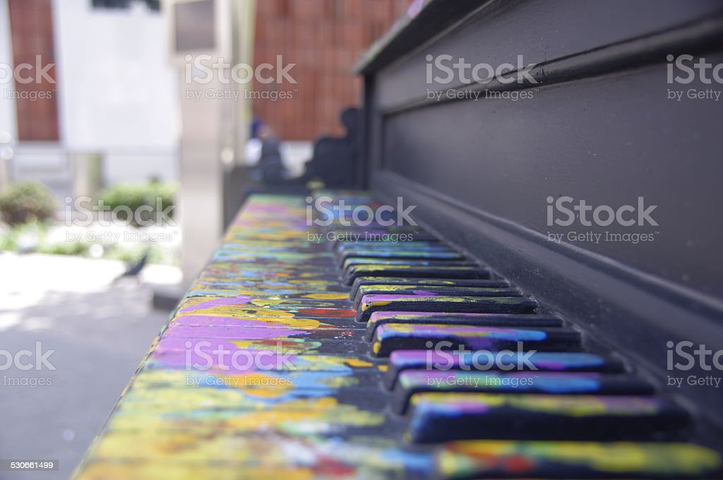 Music and Color royalty-free stock photo