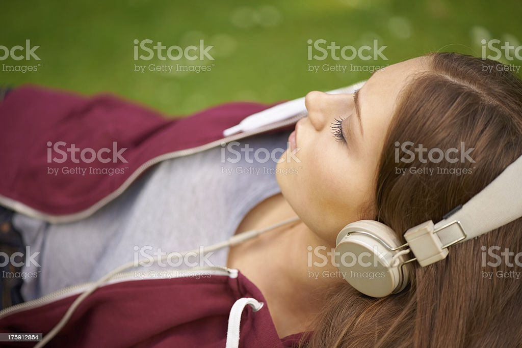 Music and dreams royalty-free stock photo