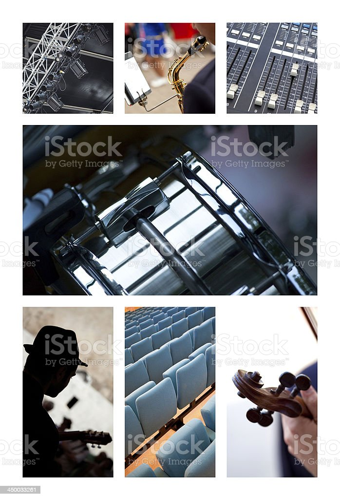 Music and entertainment royalty-free stock photo