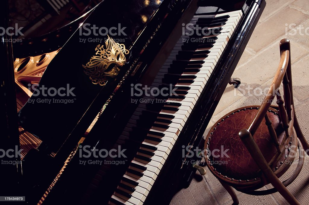music and theater royalty-free stock photo