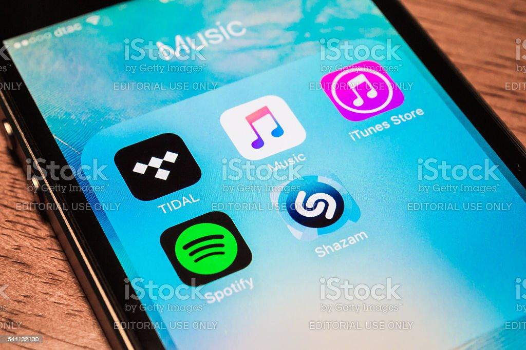 Music Applications stock photo