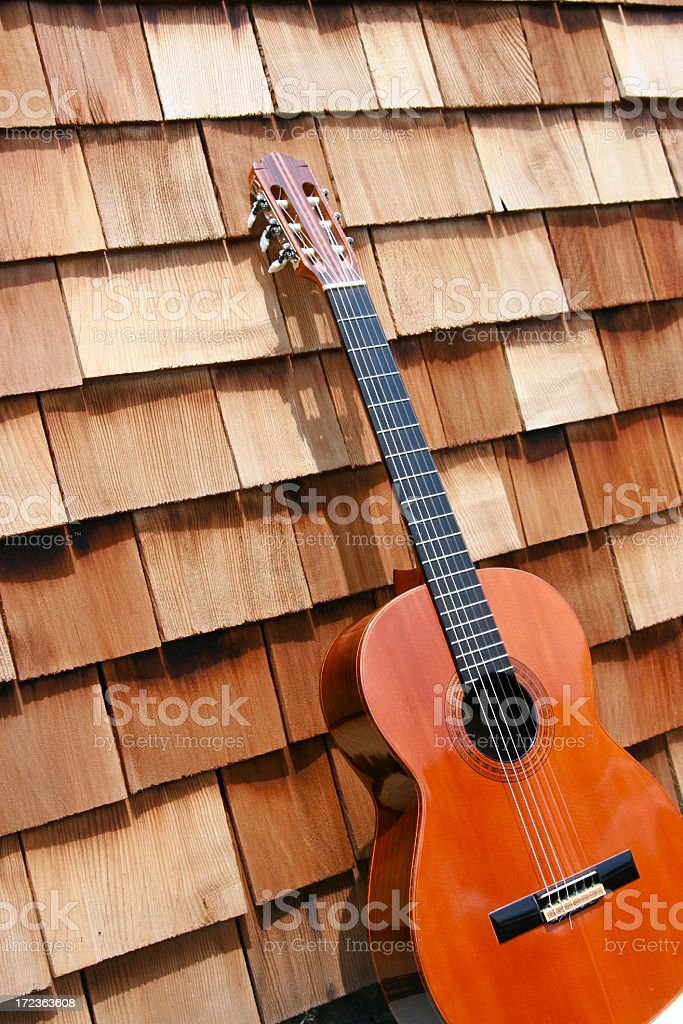 Music at an Angle stock photo