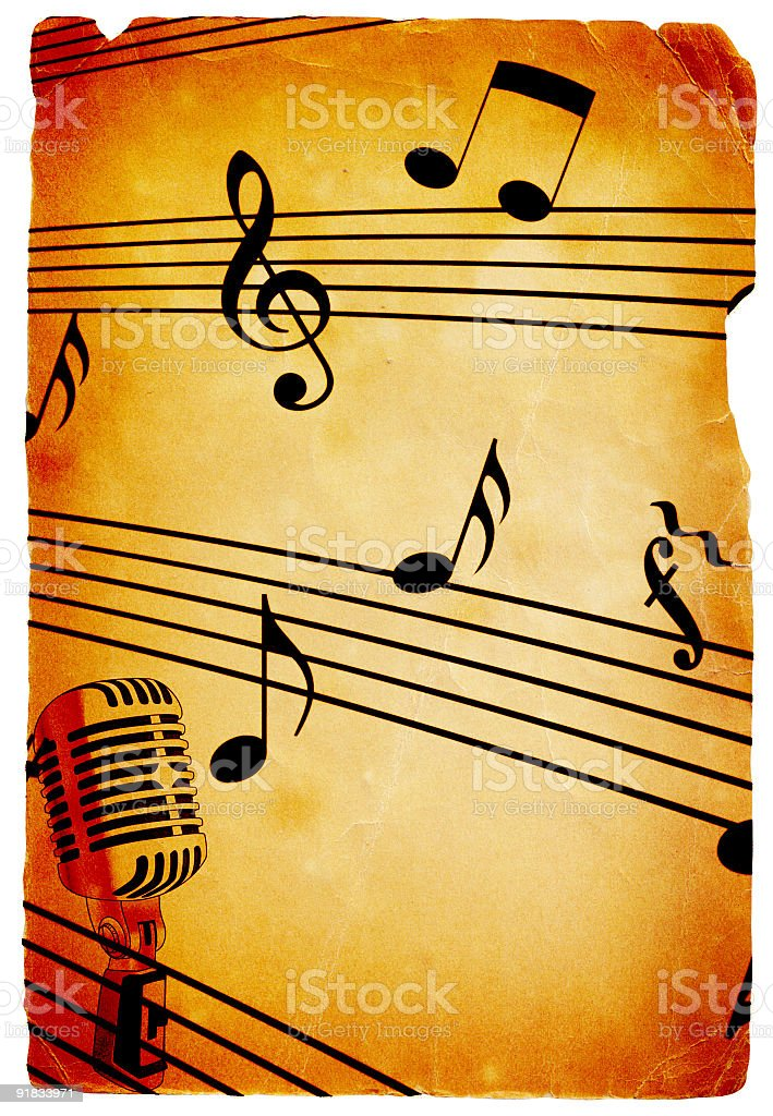 Music Backgrounds royalty-free stock photo