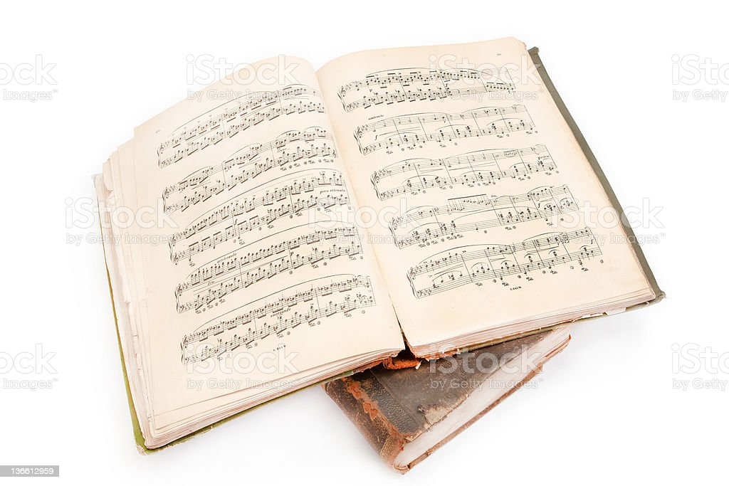 Music Book stock photo