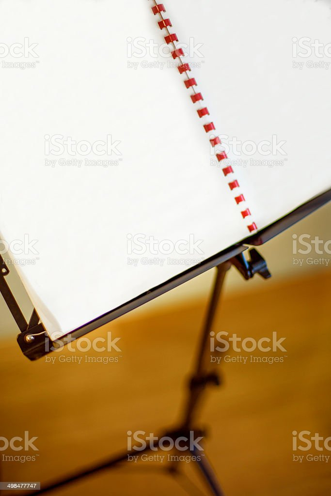 Music Book royalty-free stock photo