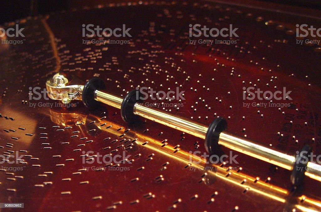 Music box Detail royalty-free stock photo