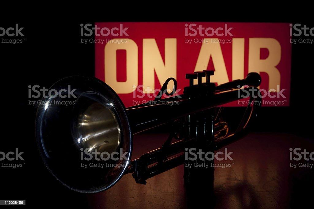 Music Broadcast Horizontal stock photo