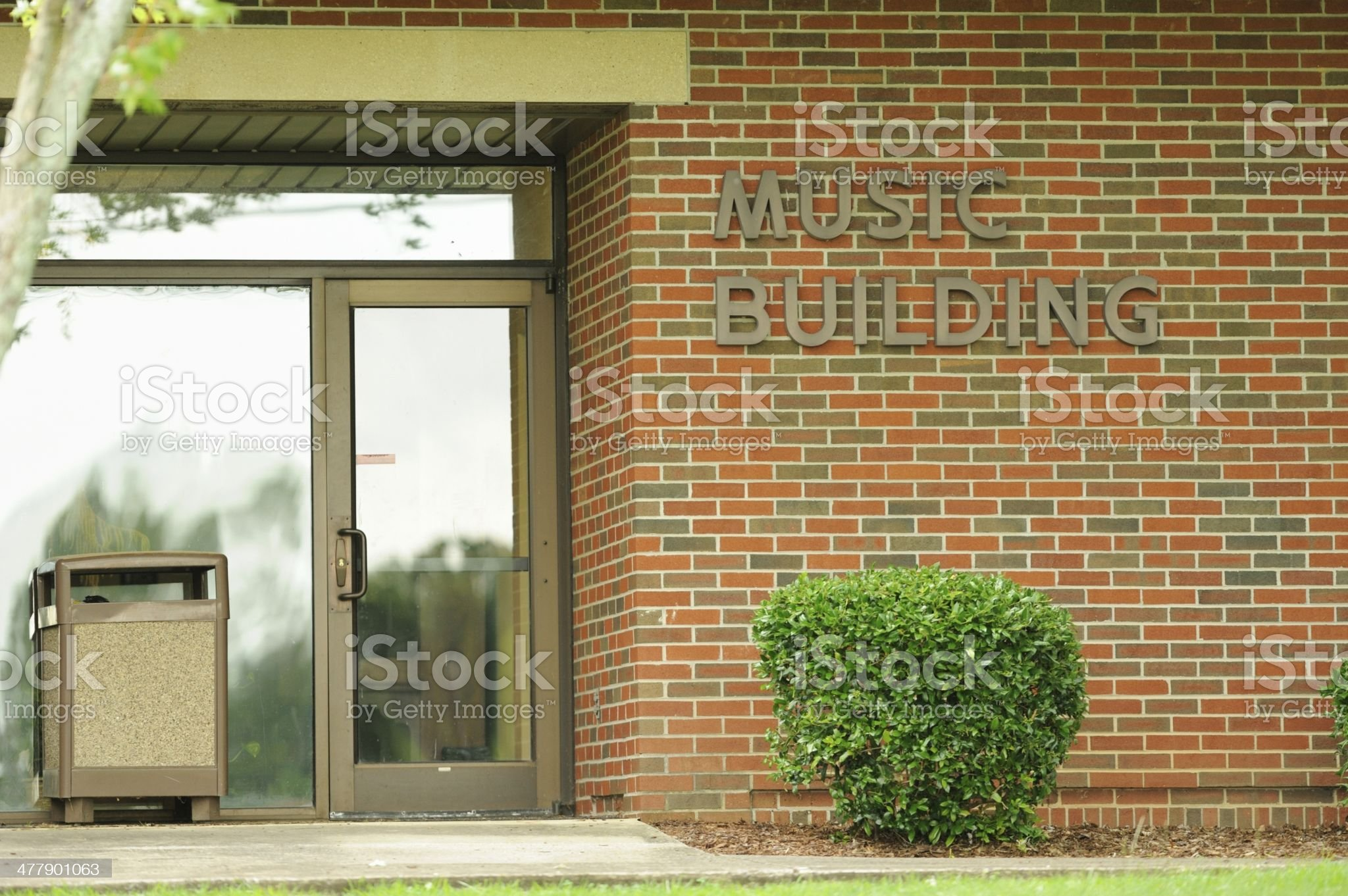 Music building royalty-free stock photo