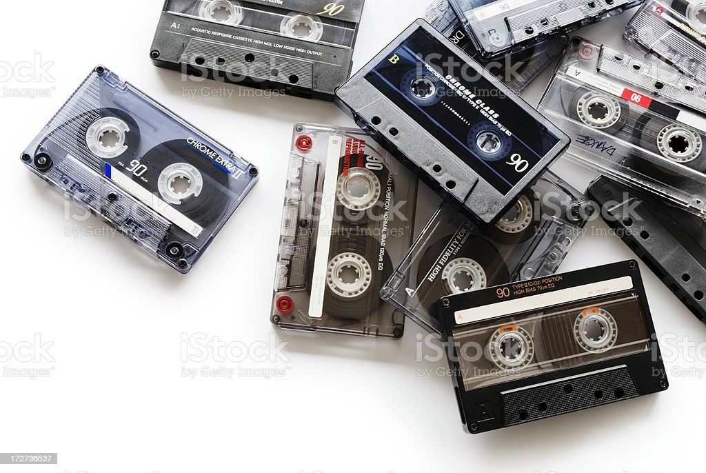 Music cans royalty-free stock photo