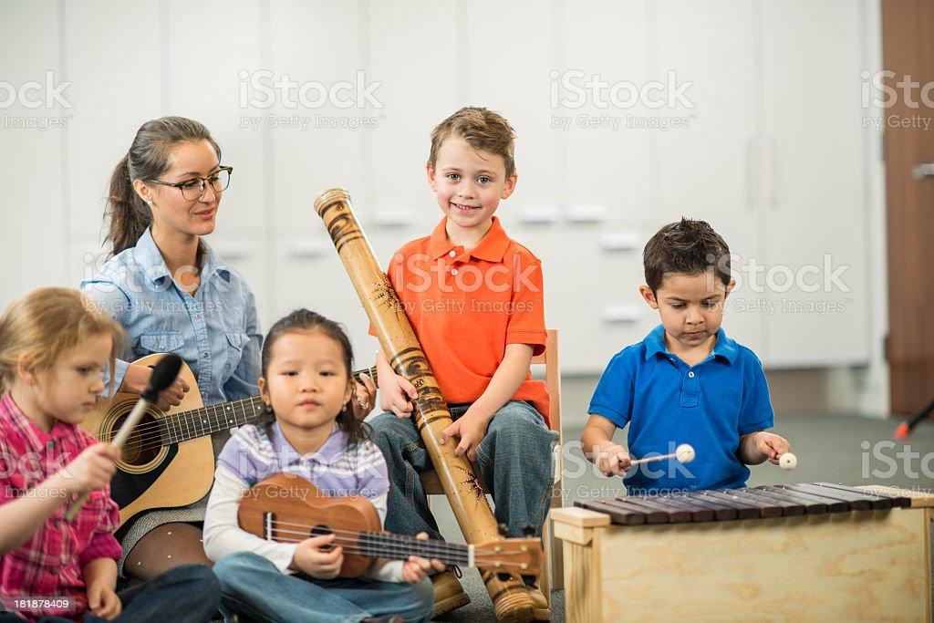 Music Class royalty-free stock photo