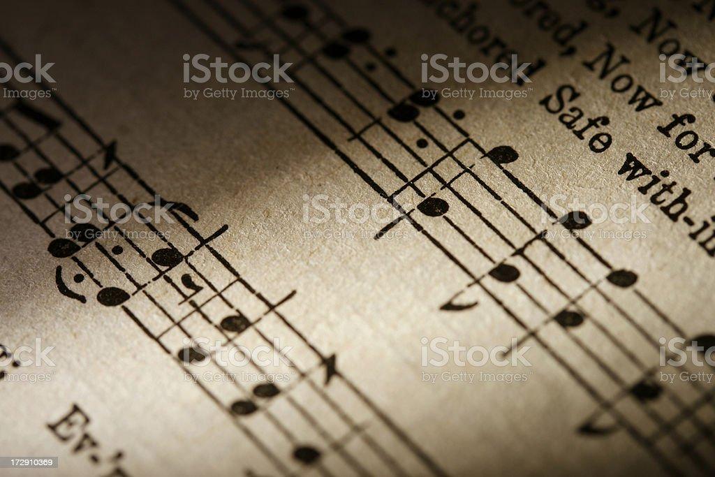 Music Close-up stock photo