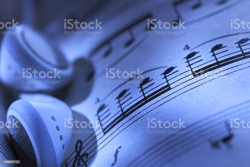 Music concept royalty-free stock photo