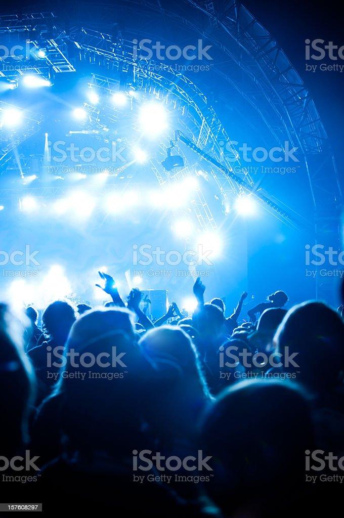 music concert open air stock photo