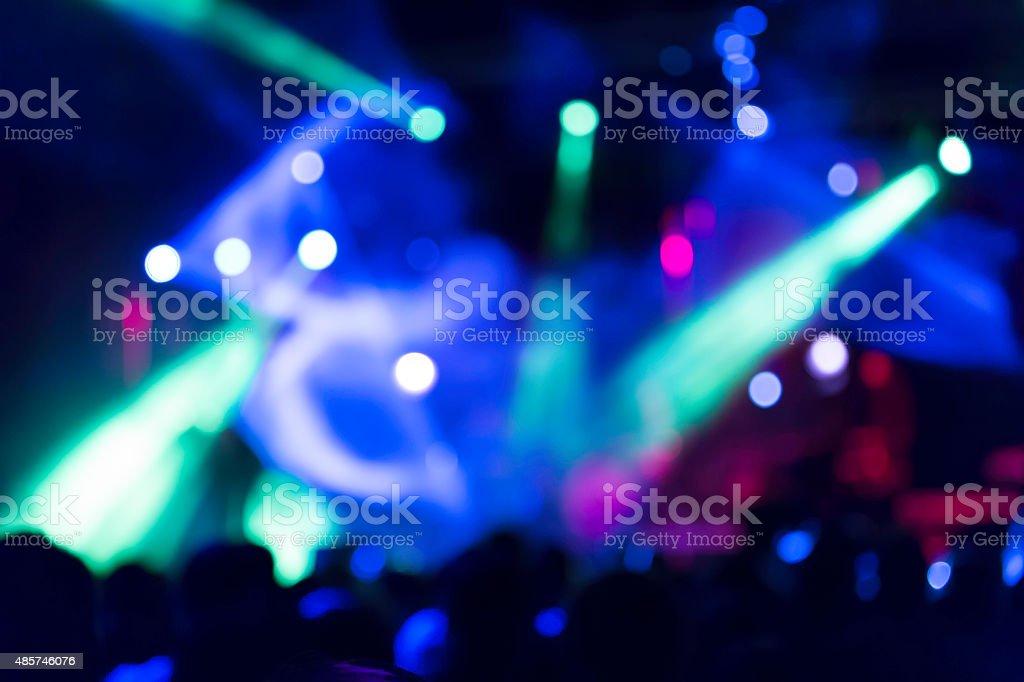 music concert stock photo