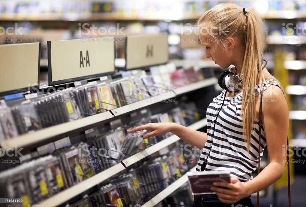 Music connoisseur stock photo