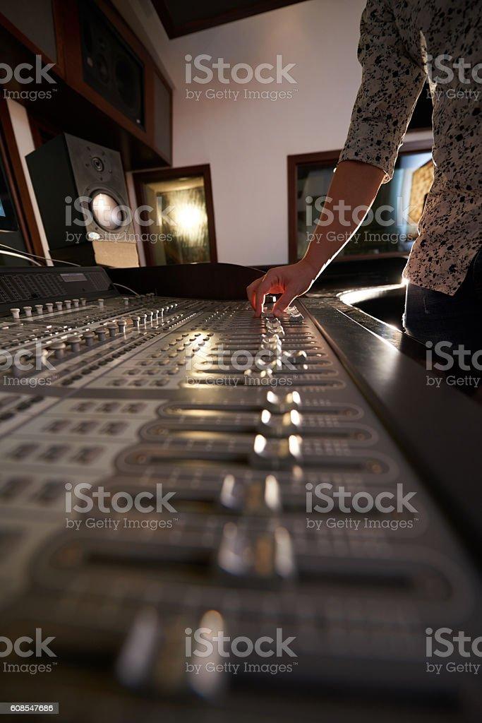 Music creation stock photo