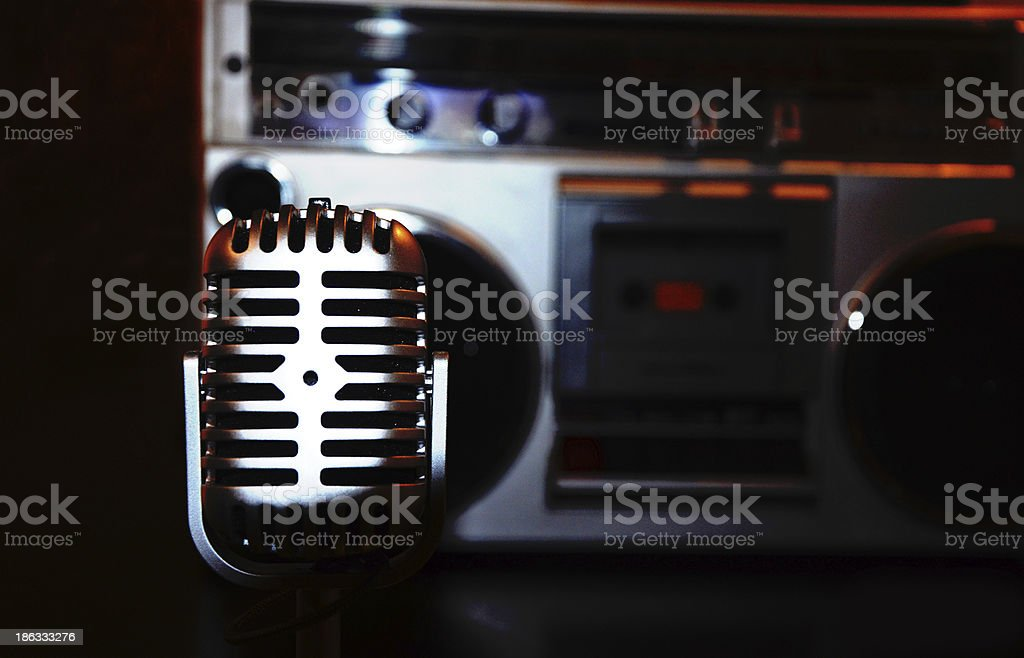 Music expression stock photo