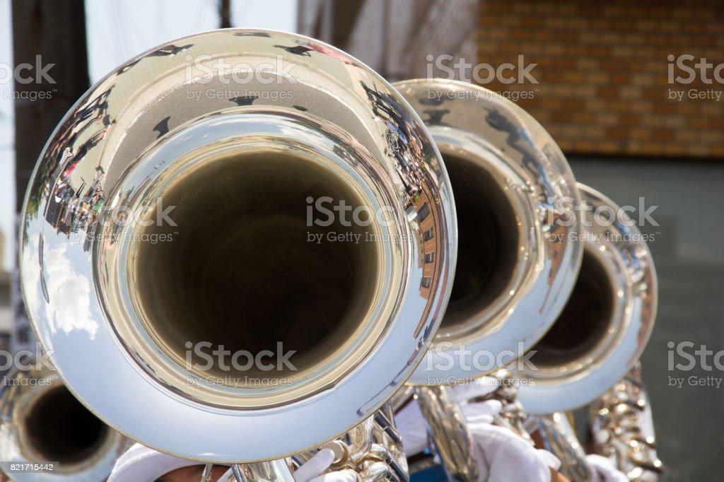 Music Festival, Euphonium stock photo