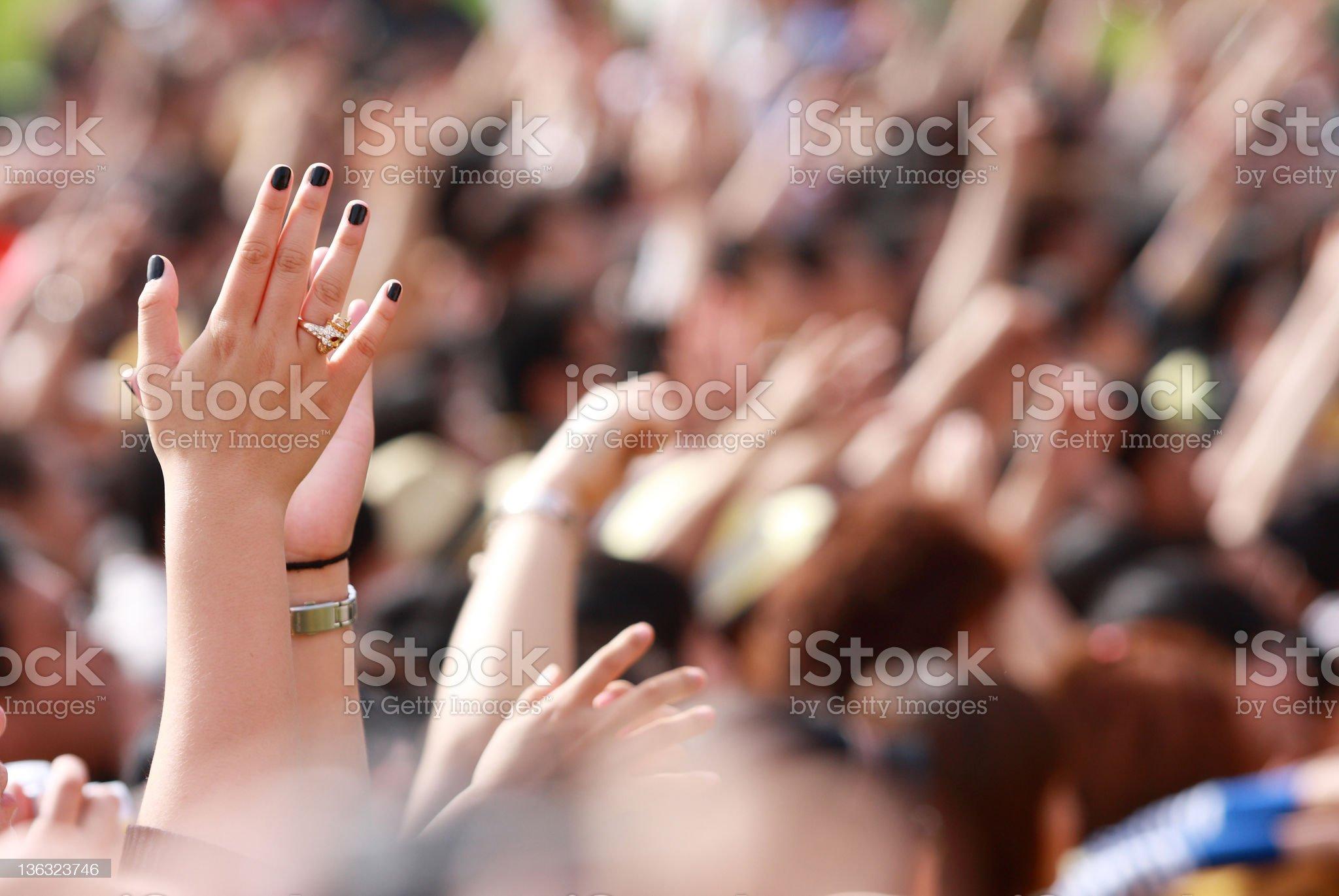 music festival royalty-free stock photo