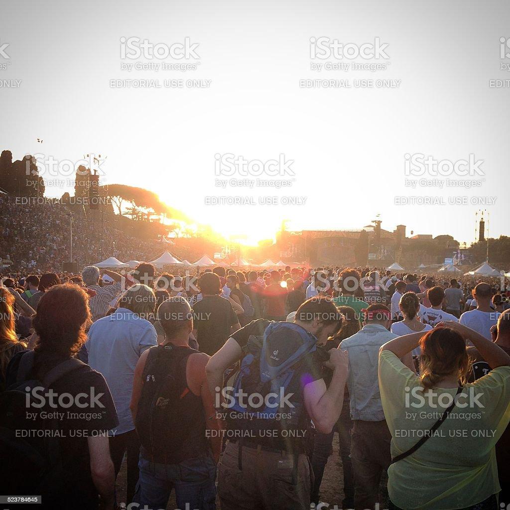 Music Festivals 2014 stock photo