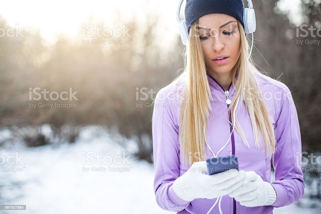 Music for a good performance stock photo