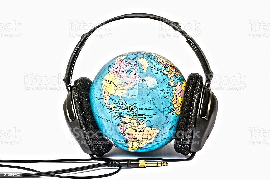 Music for the World stock photo