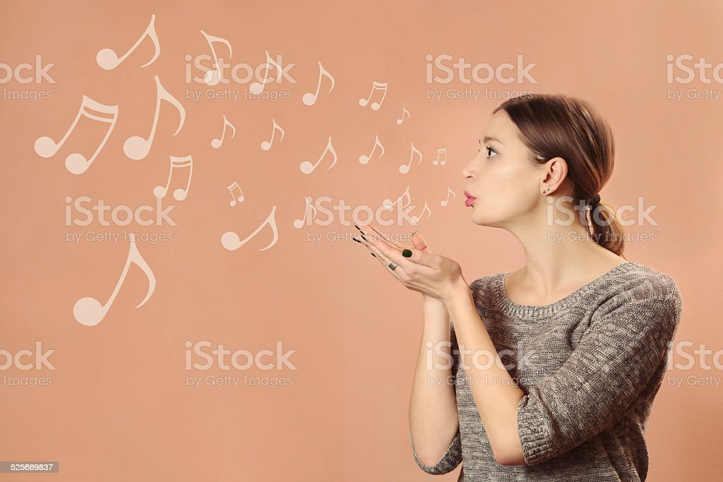 Music for you stock photo