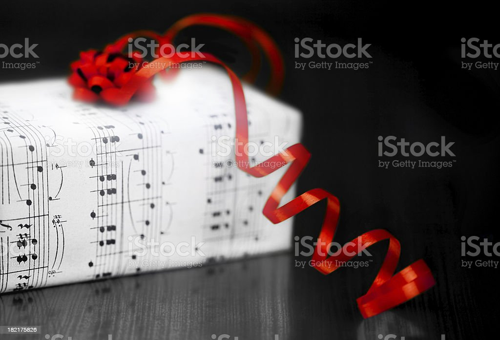 Music Gift royalty-free stock photo