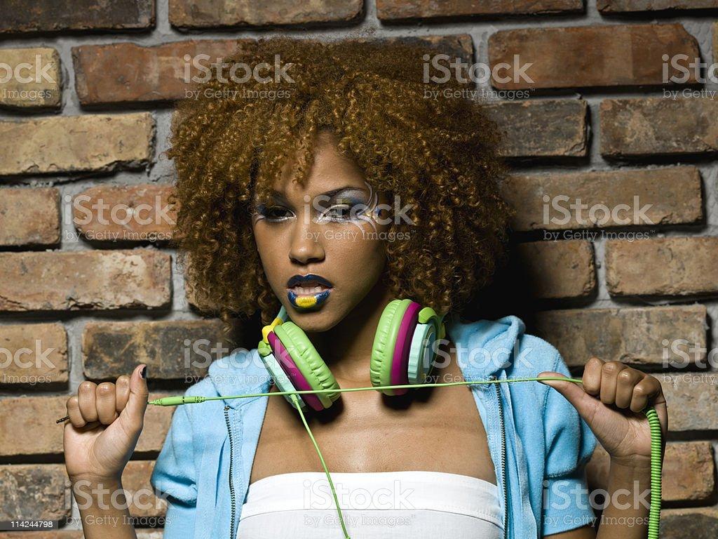 Music Girl royalty-free stock photo