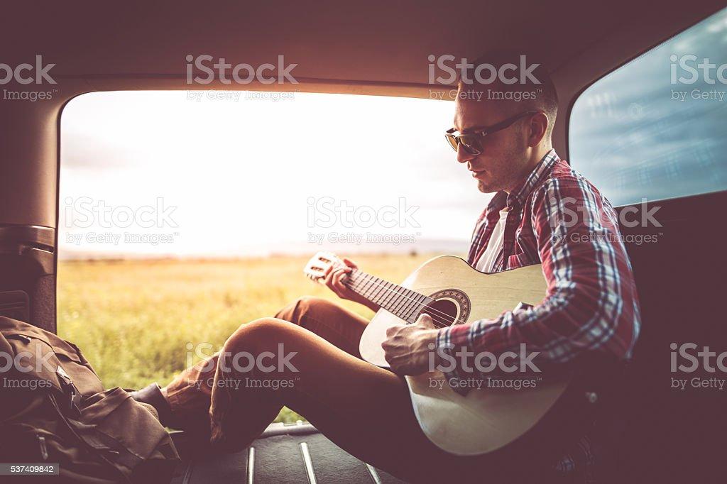 Music i nature stock photo