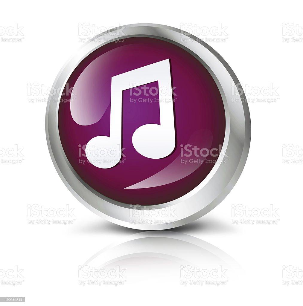 Music icon royalty-free stock photo