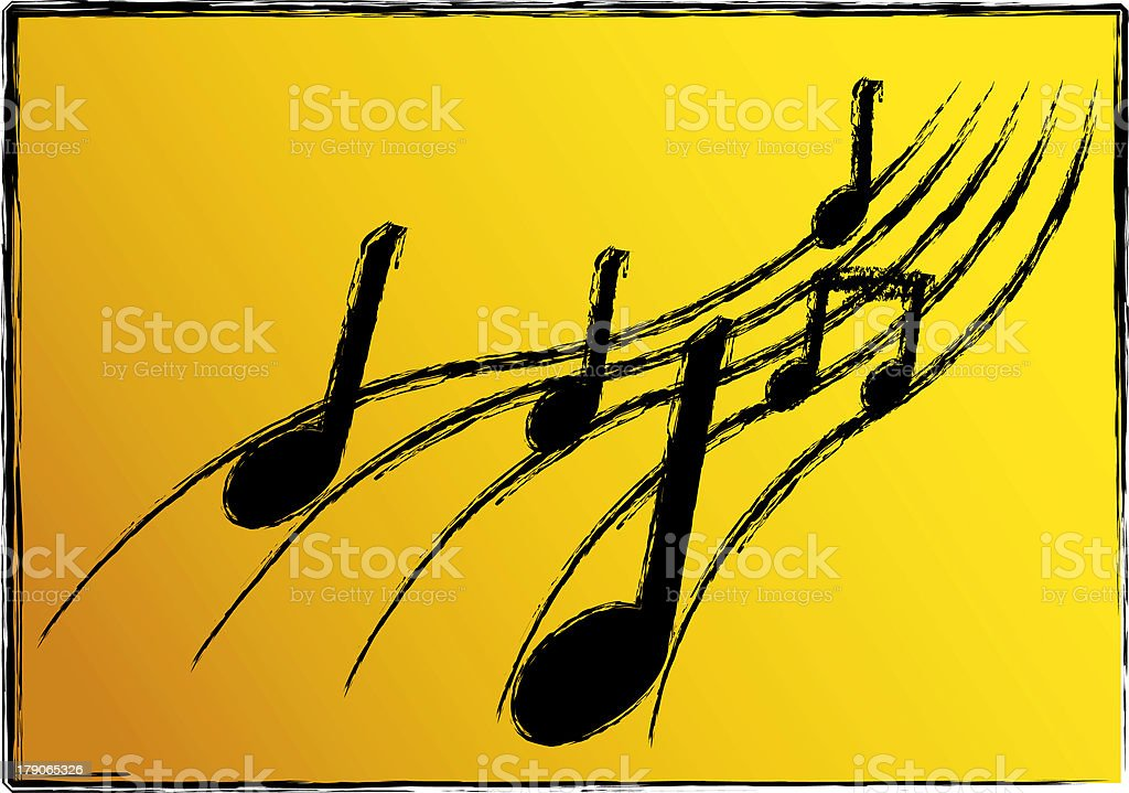 Music Illustration royalty-free stock photo
