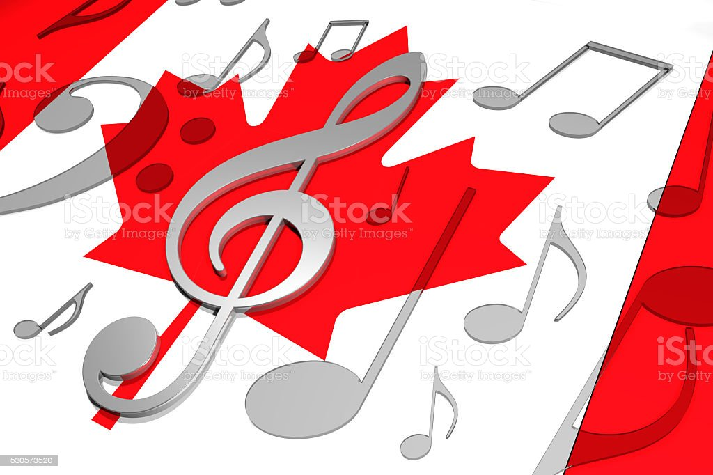 Music in Canada stock photo