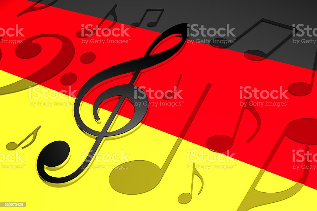 Music in Germany stock photo