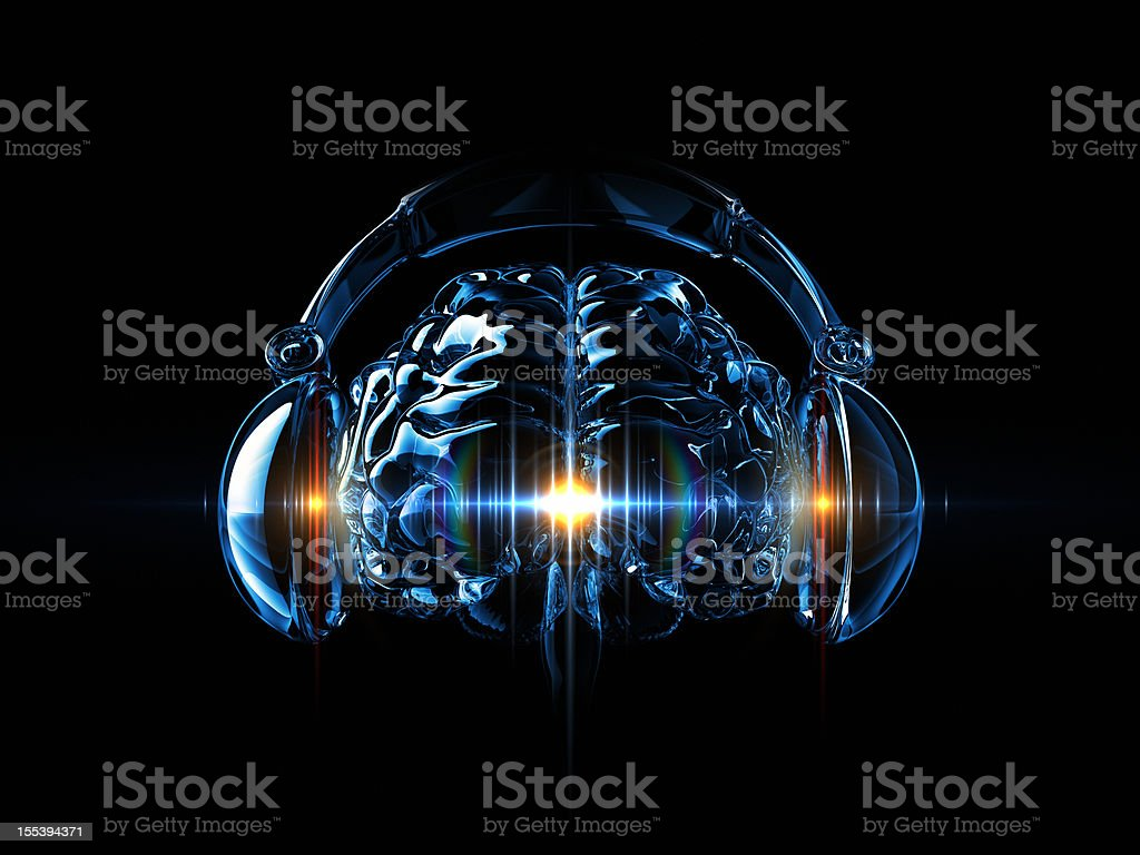 Music In The Mind stock photo
