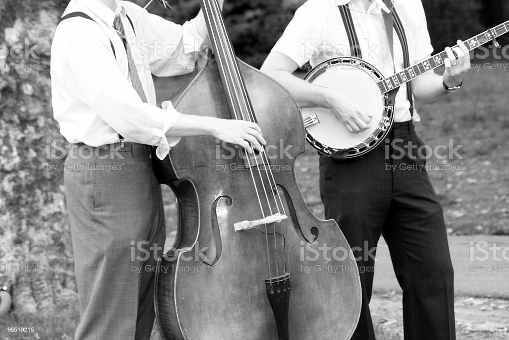 Music in the Park stock photo