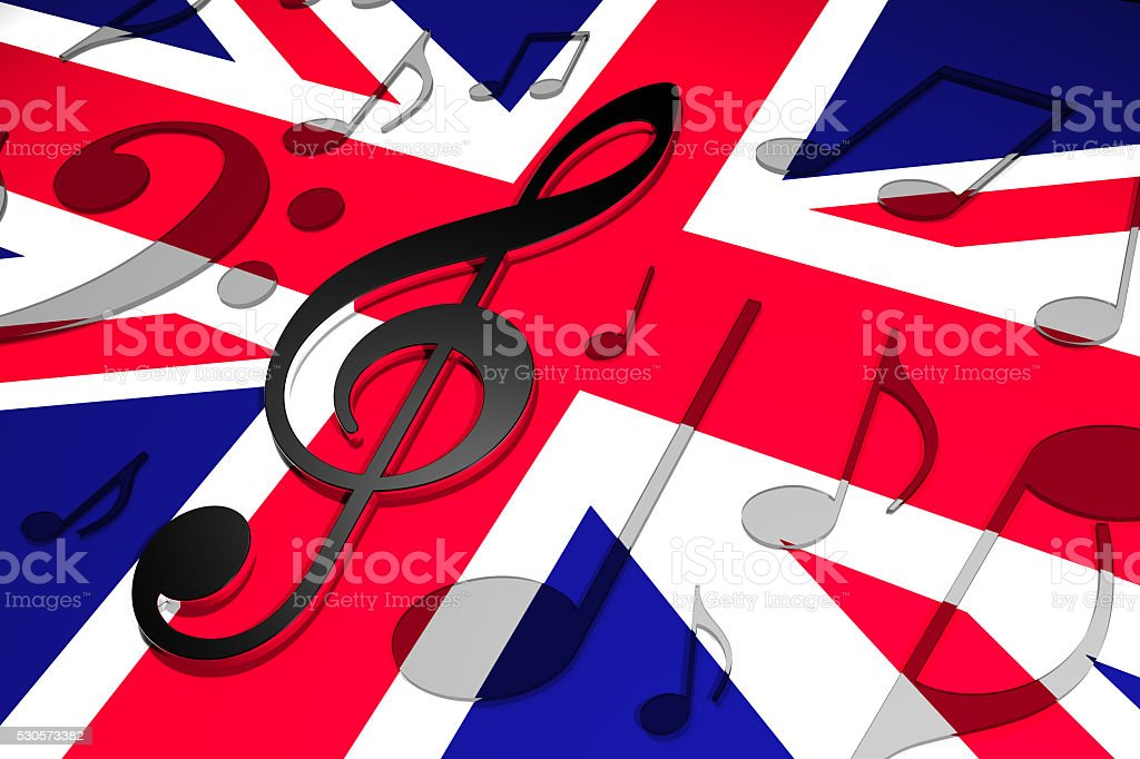 Music in the UK stock photo