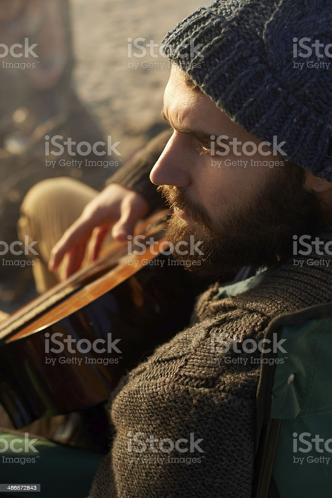 Music is important to me royalty-free stock photo