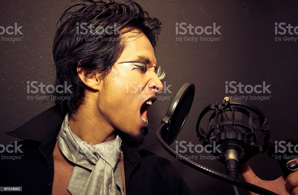 Music is my life royalty-free stock photo
