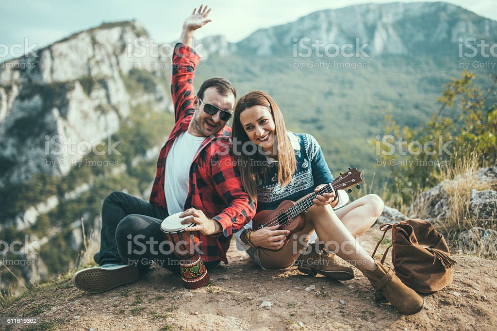 Music is our life stock photo